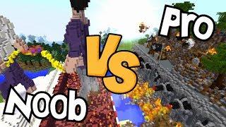 N00B VS PRO BOUWERS!! DIT IS OORLOG!!
