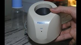 Mở hộp, đánh giá máy hâm sữa Yummy YM-18A