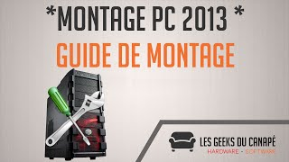 FR GUIDE - Montage Pc Gamer