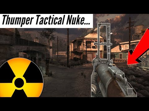 Modern Warfare 2- Thumper Tactical Nuke Challenge!
