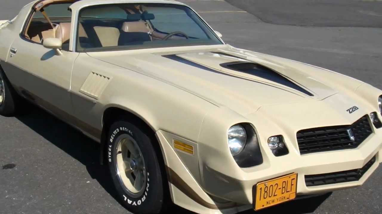 T Top Camaro >> 1979 Chevrolet Camaro Z28 T Top 4 Speed