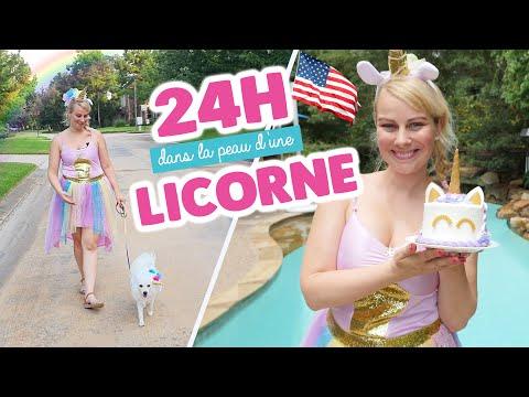 24H DANS LA PEAU D'UNE LICORNE EN AMERIQUE ♡ VIRGINIE FAIT SA CUISINE