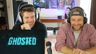 GHOSTED Trailer Reaction (FOX Fall Paranormal Comedy - Adam Scott/Craig Robinson)