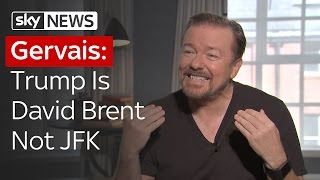 Ricky Gervais Talks Brent, Trump, And Why They Arent All That Different