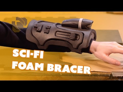 Sci-Fi Foam Bracer - Prop: Live from the Shop