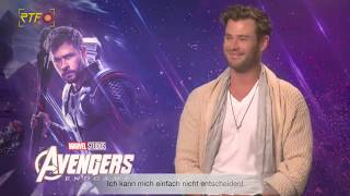 Avengers: Endgame - Interview mit Chris Hemsworth