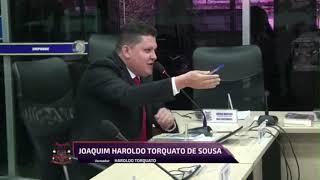 Haroldo Torqueto pronunciamento 14 05 2019