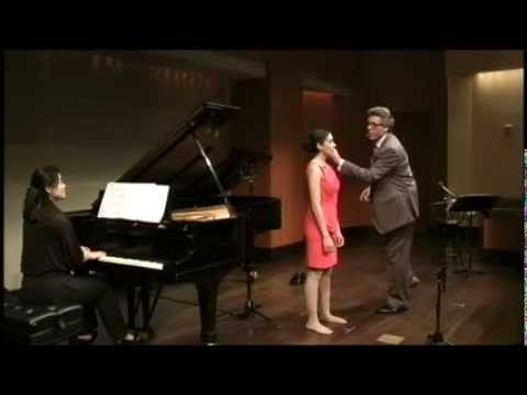 2012 Thomas Hampson Voice Master Class