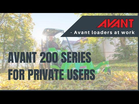 New Avant 200 series video