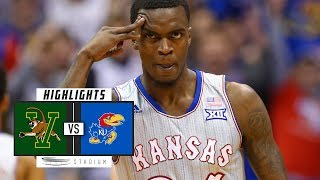 Vermont vs. No. 2 Kansas Basketball Highlights (2018-19) | Stadium