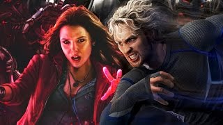 Quicksilver and Scarlet Witch - Origins