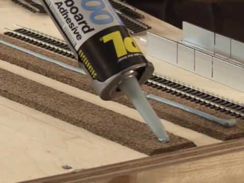 Laying Model Railroad Track Tips and Tricks - YouTube