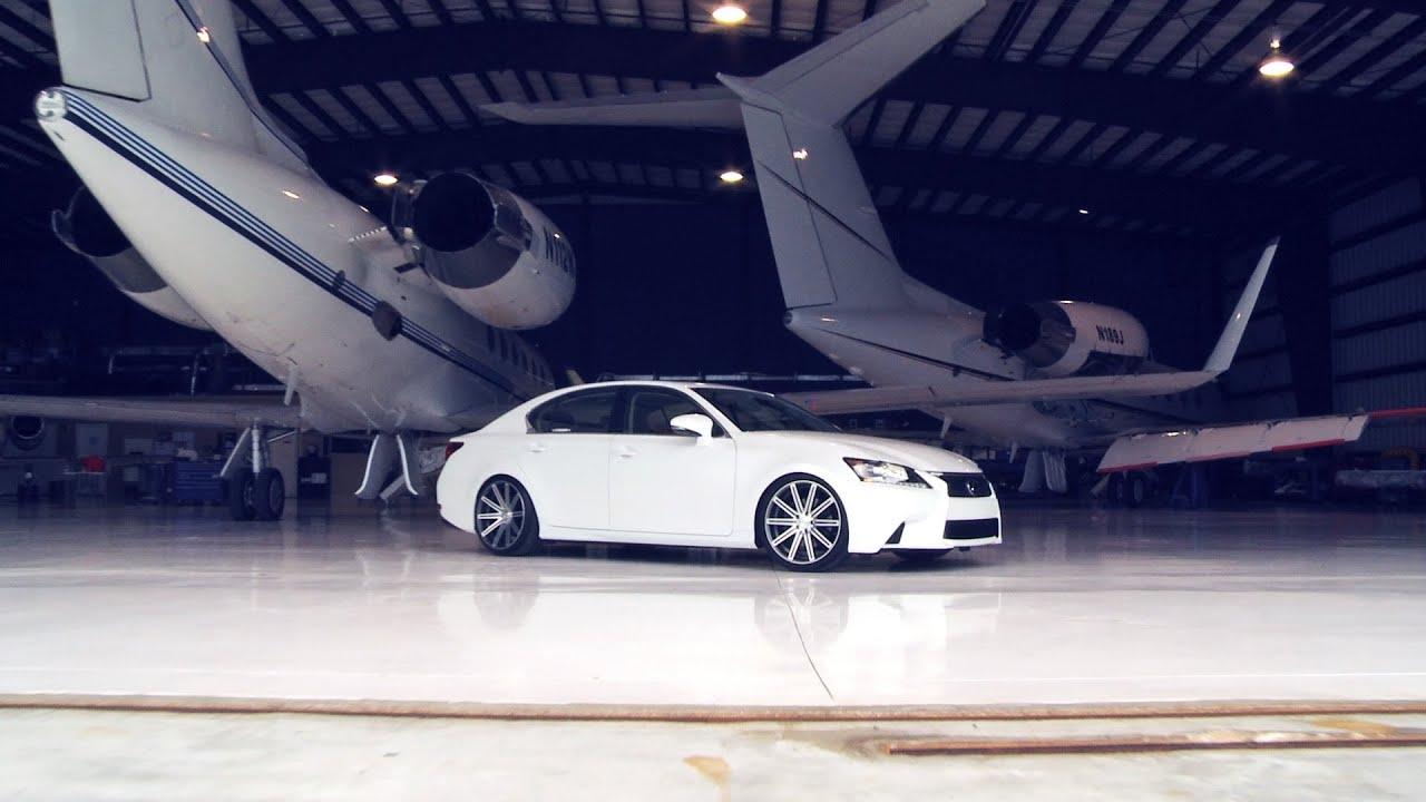 2013 Lexus GS 350 On 20 Vossen VVS CV4 Concave Wheels