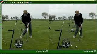 15 Handicap Starts Compressing The Golf Ball In Minutes | The Lag Stick