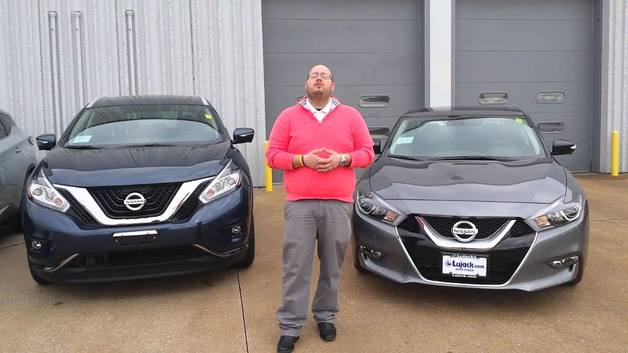 your new 2016 nissan maxima and 2015 murano at lujack nissan in davenport iowa youtube youtube