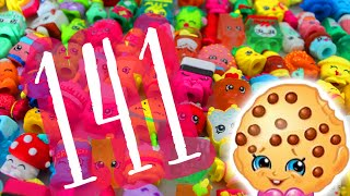 Shopkins Mania! Watch Me Opening 141 Shopkins Toys With Ultra Rare, Exclusive, & Special Editions!