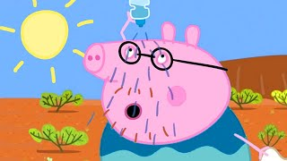 Peppa Pig Channel  Peppa Pig Flying to the Outback - Earth Day Special