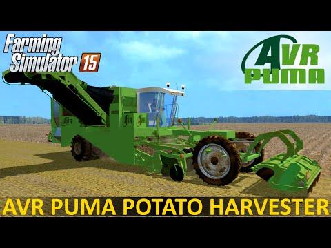 Farming Simulator 15 AVR PUMA POTATO HARVESTER
