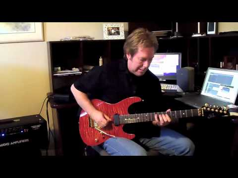 No Justice Guitar Solo using Suhr OD100, Suhr Modern and THD Hotplate