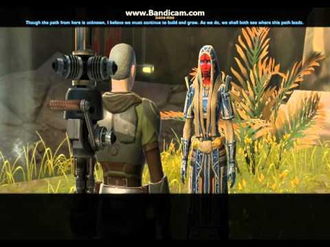 SWTOR : Alliance Specialist rank 20