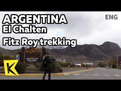 【K】Argentina Travel-El Chalten[아르헨티나 여행-엘 찰텐]피츠로이 트레킹의 시작점/Fitz Roy/Trekking/Los Glaciares/Glacier