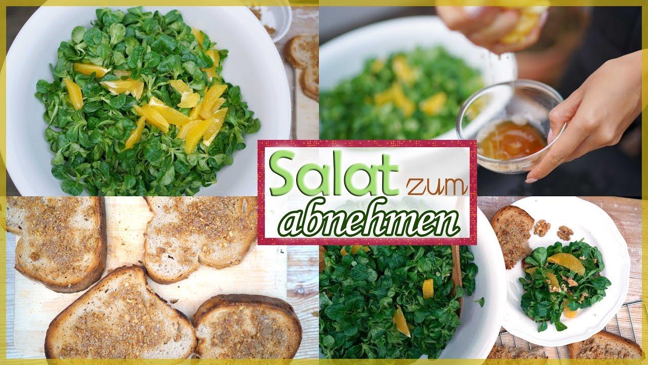 gesunder salat zum abnehmen ohne l winterliches abendessen wenig kalorien youtube. Black Bedroom Furniture Sets. Home Design Ideas