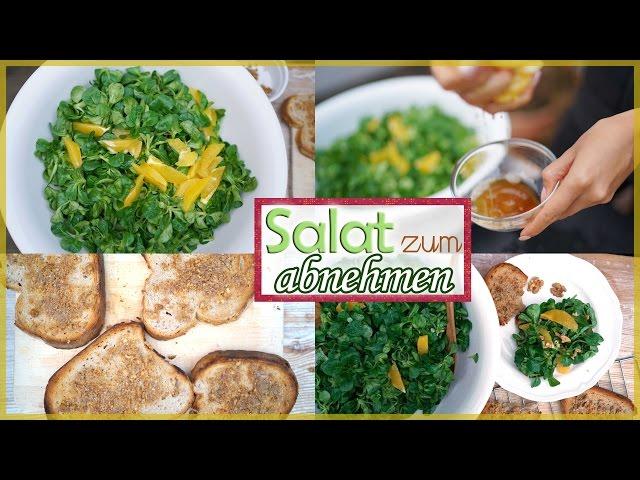 Salate zum Abnehmen beim Abendessen