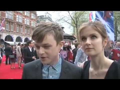 Dane DeHaan with His Wife Anna Wood Talking about Robert Pattinson