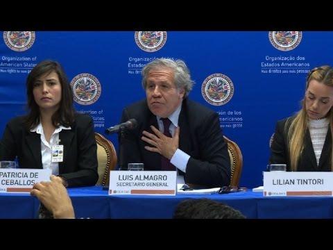 Jefe de OEA inicia consultas sobre suspensión de Venezuela