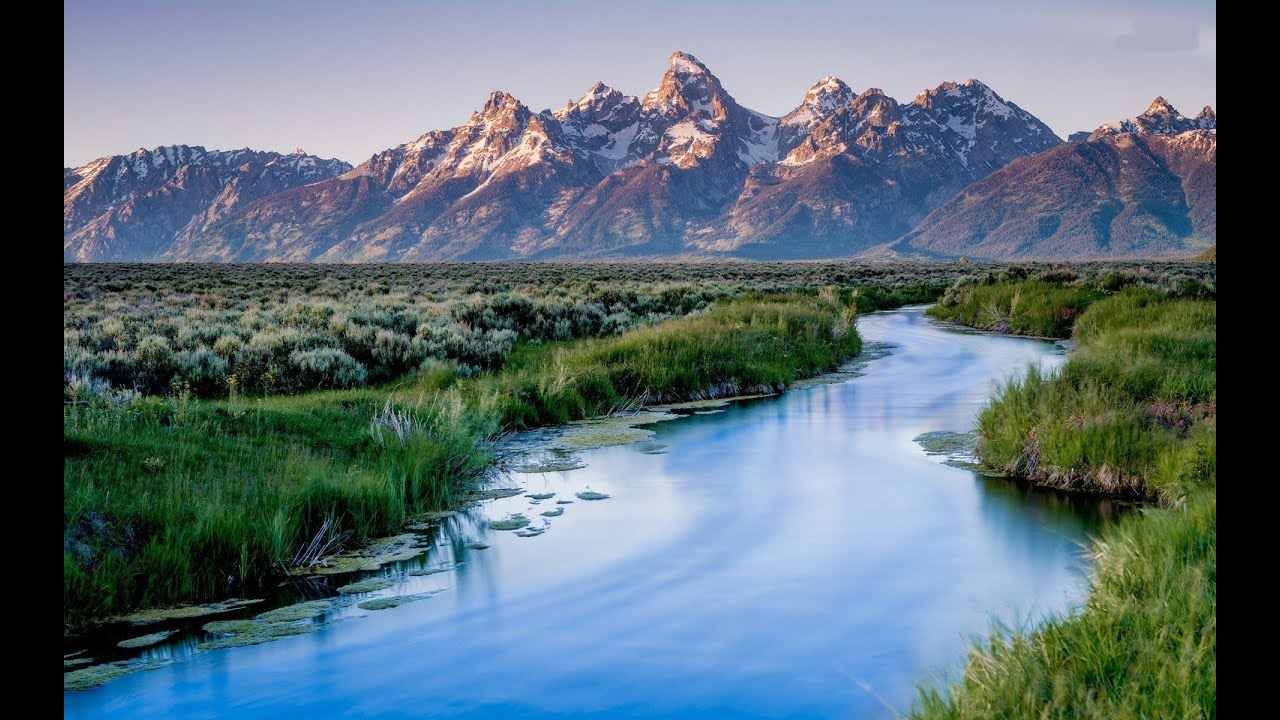 Grand Teton National Park Road wallpaper