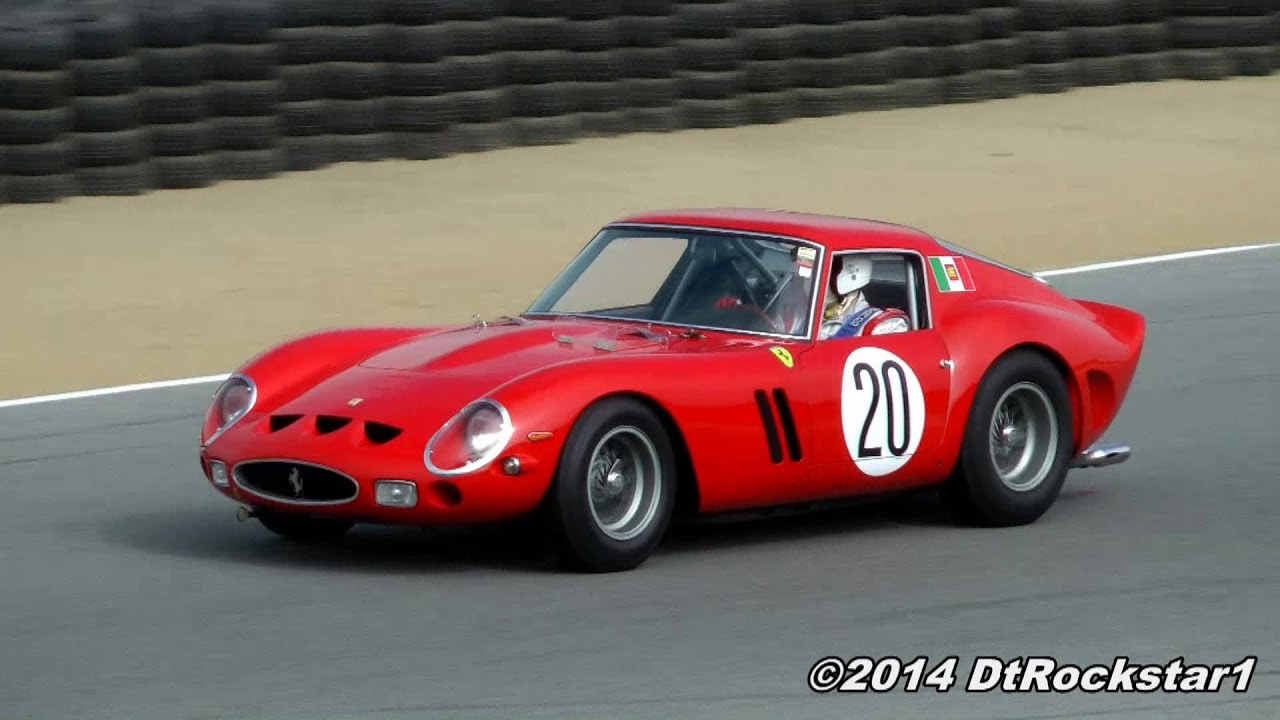 Ferrari California T >> $50 Million Ferrari 250 GTO racing!!!! - YouTube