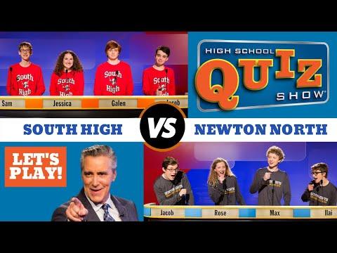 High School Quiz Show - Newton North vs. South High (908)
