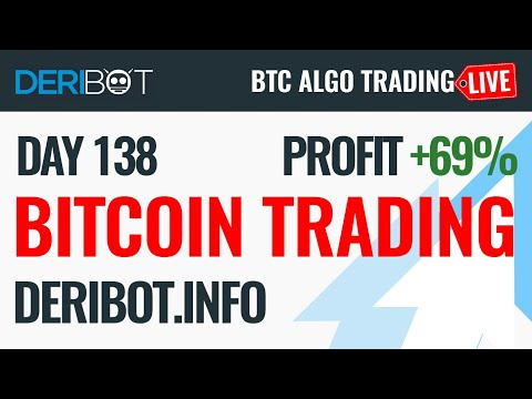 Live Bitcoin Trading With DeriBot on Deribit Exchange
