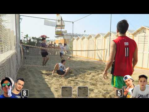 CALCIO TENNIS ON THE BEACH [ SUMMER CHALLENGE ]