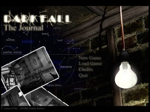 The Paleogamer Plays - Dark Fall: The Journal - Part 1