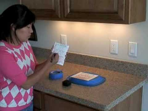 Testing Granite Counter-tops for Radon