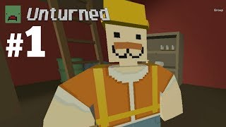 Unturned Co-op (Part 1 - Head to the Moon)