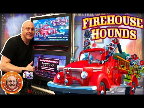 🔥This Machine's on FIRE! 🔥Firehouse Hounds BONUS JACKPOT! 🎰- The Big Jackpot - 동영상