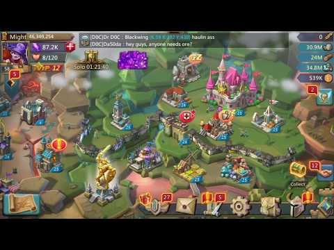Lords Mobile | Training Troops! Reaching 10million Total Troops!