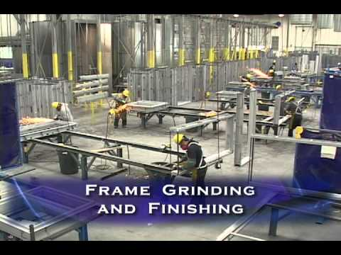 Hollow Metal Frames Manufacturing Process Youtube