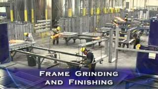 Hollow Metal Frames Manufacturing Process