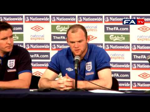World Cup 2010 - Wayne Rooney - England Press Conference 16/06/10