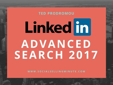 LinkedIn Advanced Search