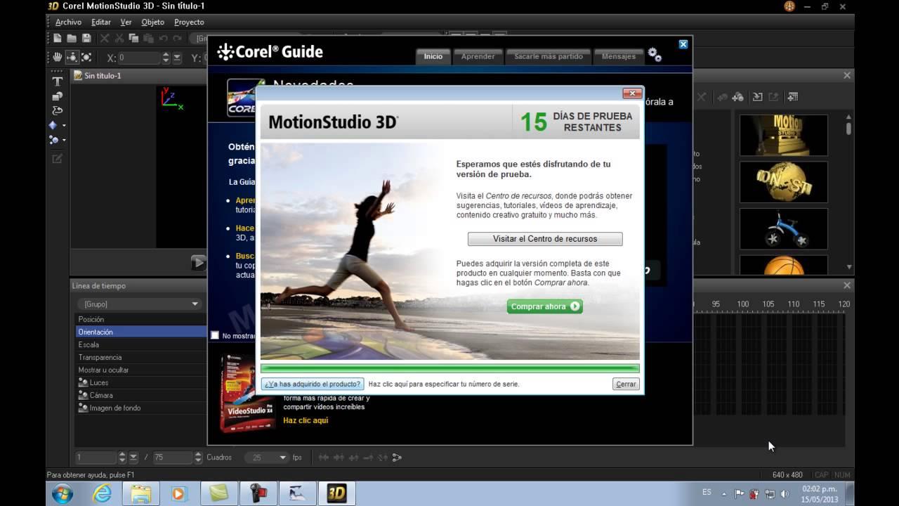 Corel Motion Studio 3D Crack Keygen Full Download