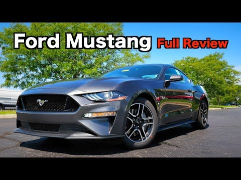 2019 Ford Mustang GT: FULL REVIEW | America's Favorite Muscle Car!