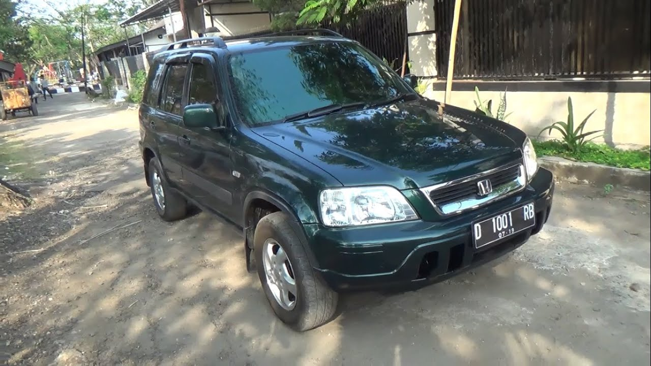 2001 honda cr v 2 0 start up in depth review youtube. Black Bedroom Furniture Sets. Home Design Ideas