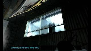 Portal 2: Wheatley vs The Bird