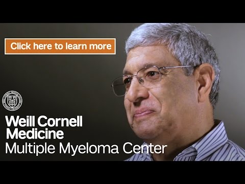 Myeloma Cancer Clinical Trials NY | Weill Cornell Medicine Multiple Myeloma Center
