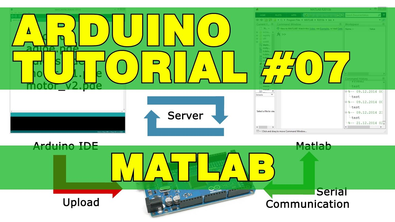 Arduino Tutorial 07: Matlab - HowToMechatronics