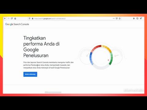 Cara Mendaftarkan Blog di Google Search Console Mudah Terbaru 2020